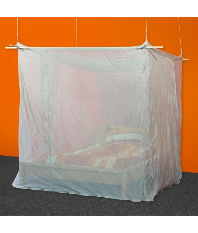 XL Box Shielded Canopy from Silver-Tulle