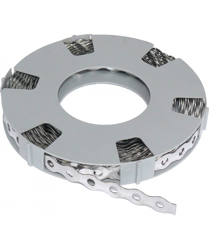 Stainless Steel Grounding Tape for Wire Mesh (10m Roll)