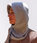EMF Protective Hooded Snood Leblok (Grey)
