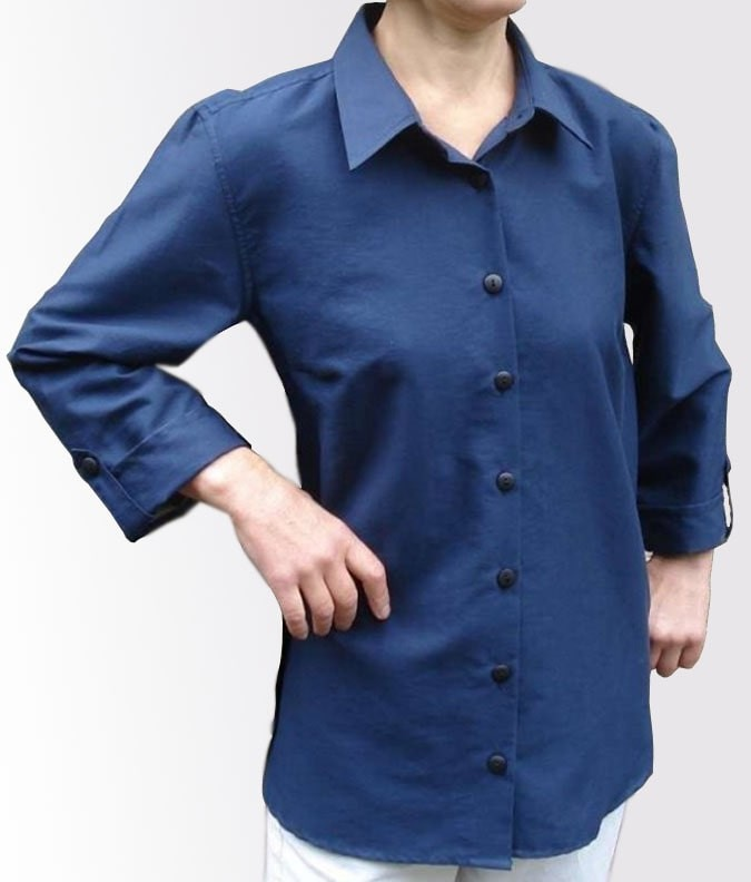 EMF Protective Womens Shirt (Navy)