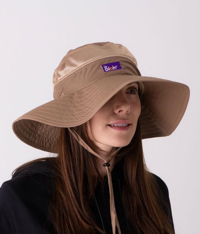 EMF Shielding Safari Hat with 100% UV protection - EMF Clothing Shop