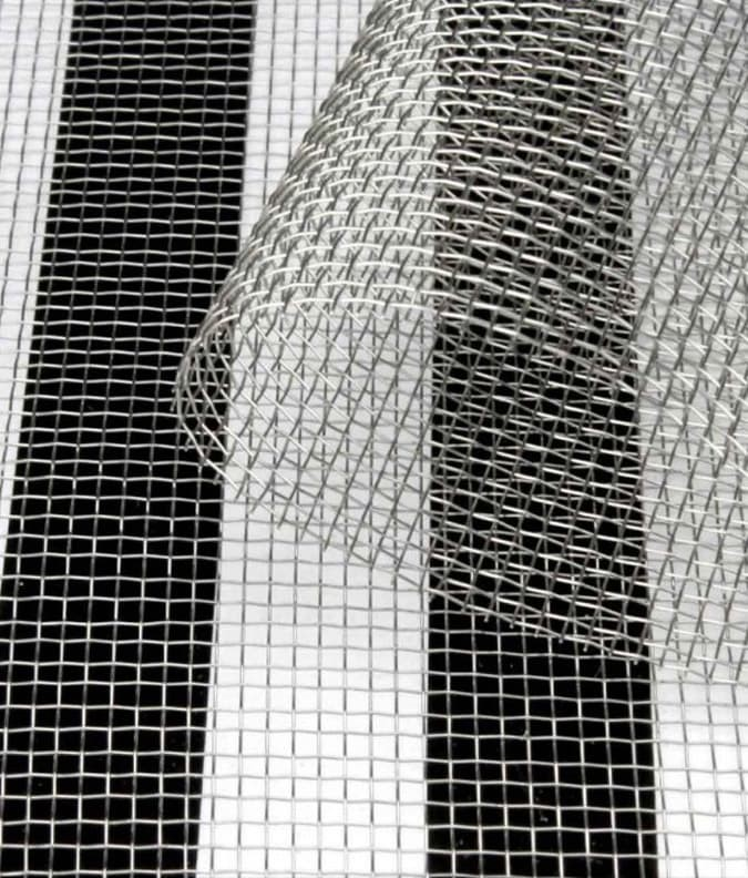 EMF Shielding Stainless Steel Mesh 1mm - 100cm wide (by meter)