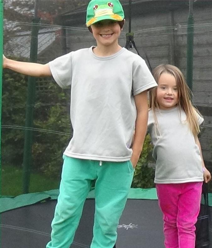 EMF Protective Childrens Unisex T-shirt (Grey)