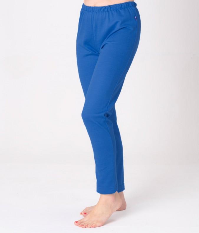 EMF Protective Womens Long Johns (Bright Blue)