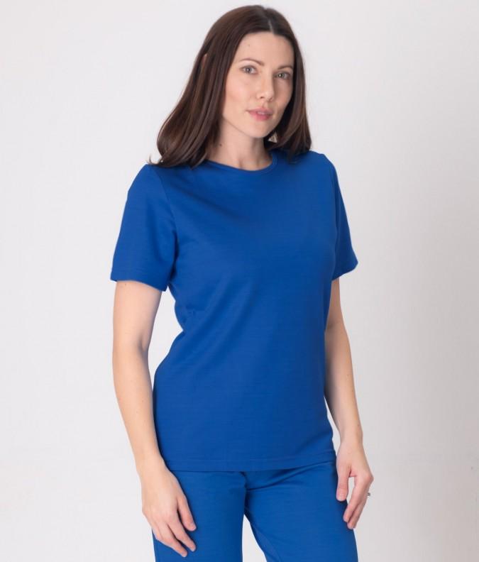 EMF Protective Womens T-Shirt (Bright Blue)