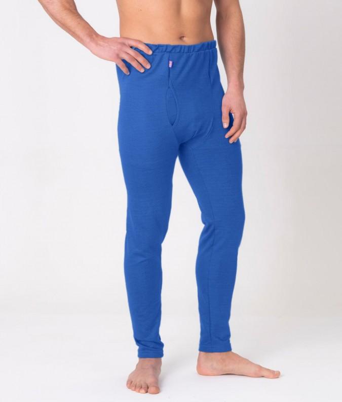 EMF Protective Mens Long Johns (Bright Blue)