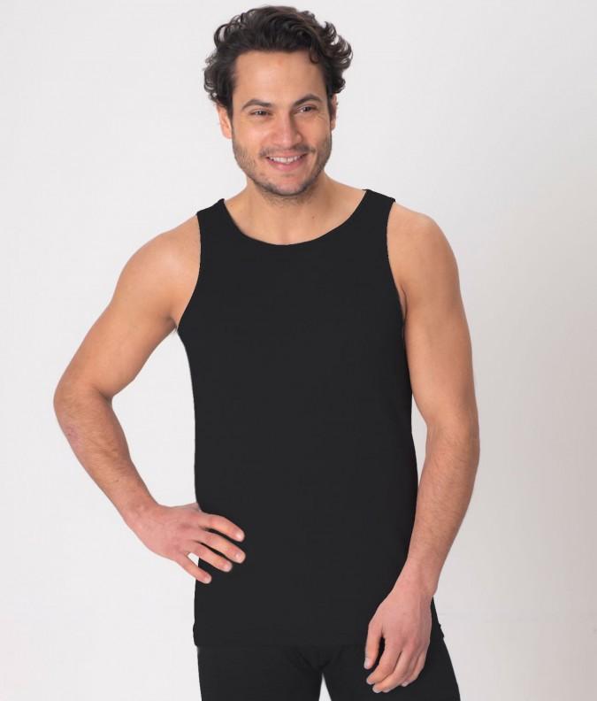 EMF Protective Mens Vest (Black)