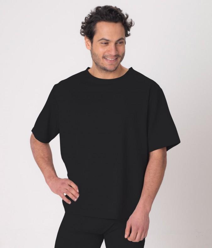 EMF Protective Mens T-Shirt Leblok (Black)