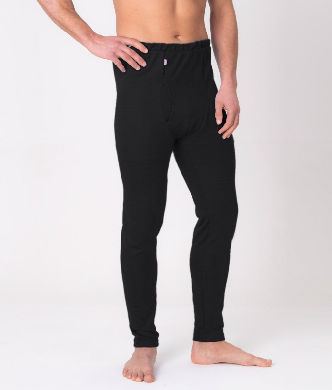 EMF Protective Mens Long Johns (Black)