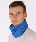 EMF Protective Hooped Scarf Leblok (Bright Blue)