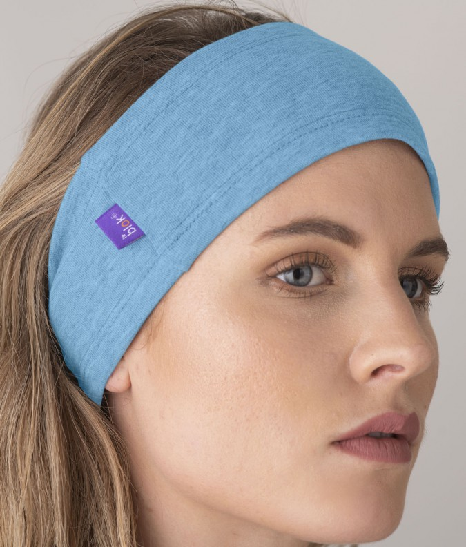 EMF Protective Headband (Light Blue)