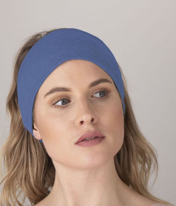 EMF Protective Headband (Bright Blue)
