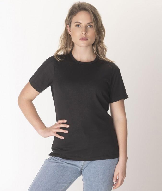 EMF Protective Womens T-Shirt (Black)