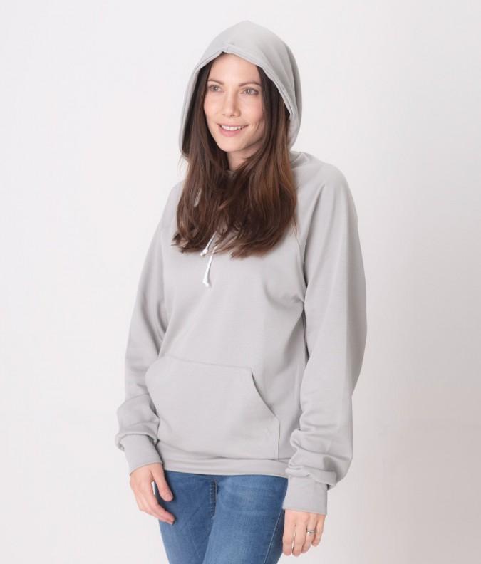EMF Protective Womens Hoodie Leblok (Grey)
