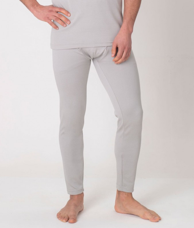 EMF Protective Mens Long Johns (Grey)
