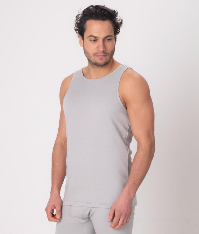 EMF Protective Mens Vest (Grey)