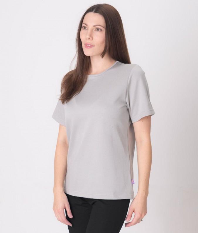 EMF Protective Womens T-Shirt (Grey)