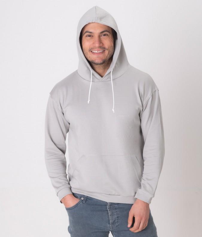 EMF Protective Mens Hoodie Leblok (Grey)