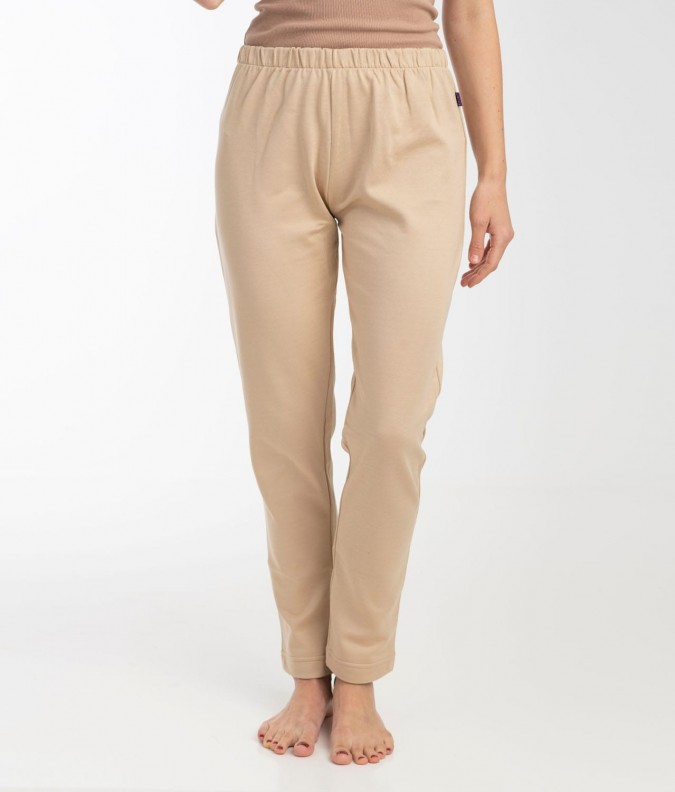 EMF Protective Womens Long Johns (Beige)