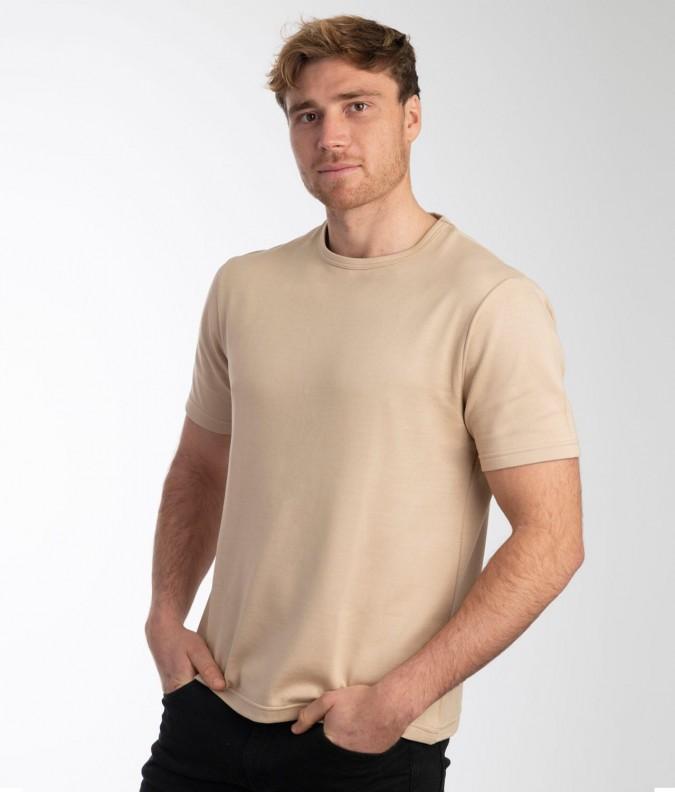 EMF Protective Mens T-Shirt (Beige)