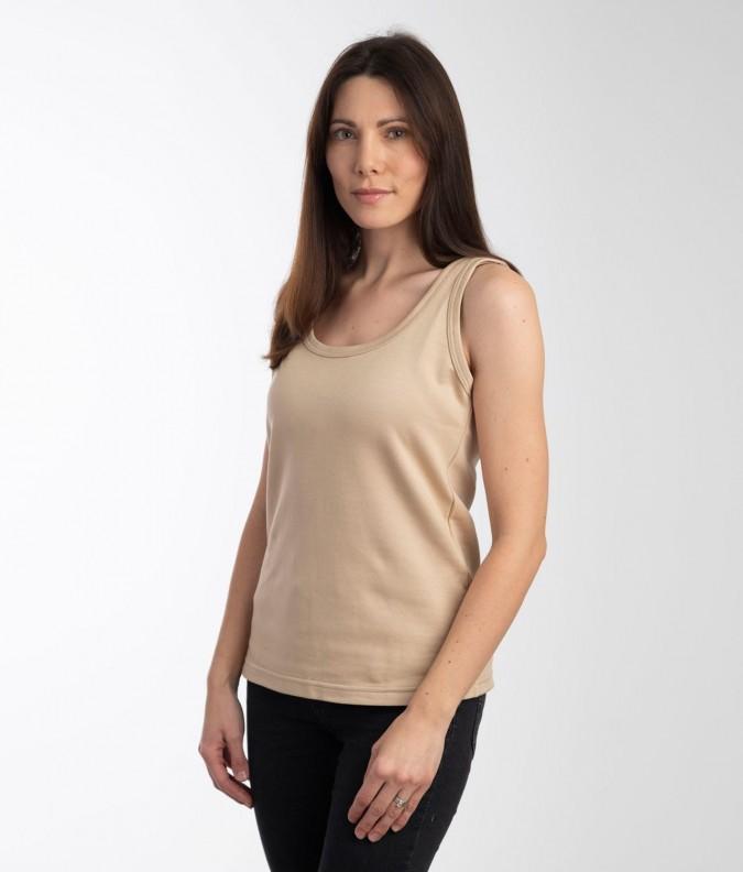 EMF Protective Womens Vest (Beige)