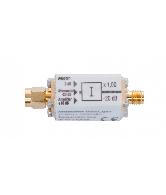 Attenuator with DC-Bypass