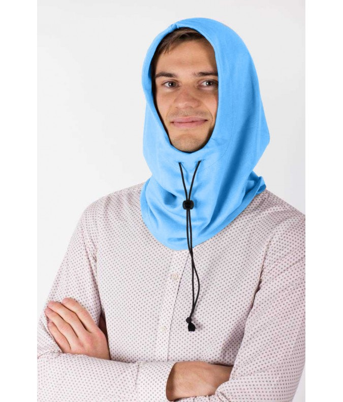 EMF Protective Hooded Snood (Blue)